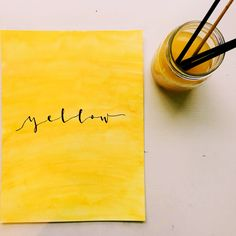 Yellow Things l yellow meaning Yellow Theme, Yellow Art, Yellow Painting, Mellow Yellow, Pastel Yellow, Aesthetic Colors, Aesthetic Pictures, Aesthetic Yellow, 90s Aesthetic