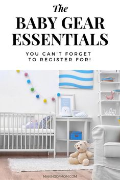 The Ultimate Baby Registry Gear Guide - literally all the essentials and must haves for your first baby - gear, products, items, stuff... including what NOT to register for! This in depth detailed guide to baby products will tell you exactly what must haves you need right now. Best Baby Registry, Baby Registry Essentials, Baby Registry Must Haves, Newborn Essentials, Baby Must Haves, Baby On A Budget, Amazon Baby, Baby Swings, First Baby