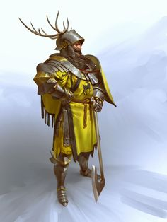 Art featuring medieval knights and their fantasy/sci-fi counterparts. Fantasy Character Design, Character Concept, Character Inspiration, Character Art, High Fantasy, Sci Fi Fantasy, Medieval Knight, Medieval Fantasy, Dnd Characters
