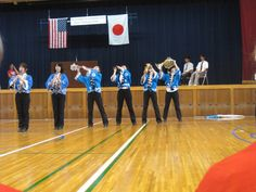 uenohara highschool band in Yamanashi Prefecture