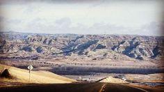 Heading to #lostbridge and into #ftberthold on a #beautiful #winter day #northdakota #ndlegendary #hwy22 #bakken #badlands #oil #oilcountry #travel #nativeamerican #mhanation #country #rural #backroads #puremidwest #mykuhlsphotography #beautifulbakken http://bit.ly/1XGhYpc