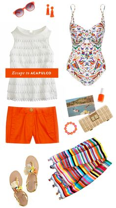 Beach worthy clothing and accessories