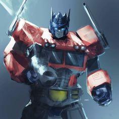 Optimus Prime by danielmchavez