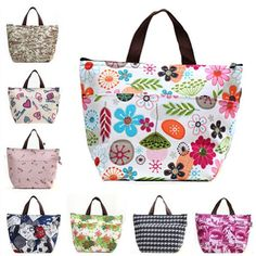 Eforstore Waterproof Picnic Lunch Bag Case Tote Reusable Bags Insulated Cooler Travel Zipper Organizer Box for Women Men Kids Girls Boys Adults (Colorful Floral) Eforstore http://www.amazon.com/dp/B00K0B24D0/ref=cm_sw_r_pi_dp_3SVjub1N0J60K
