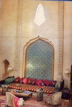 Have I said that I love Moroccan styled living rooms?