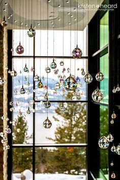 Over my bathtub Hanging Crystals, Beaded Curtains, Wire Crafts, Sun Catcher, Bohemian Decor, Feng Shui, Crystal Beads, Wind Chimes, Glass Art