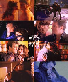 If you hadn't seen the show you wouldn't believe that in over half of those Beckett and Castle arent even together.