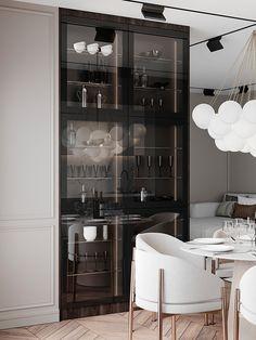 Kitchen Room Design, Modern Kitchen Design, Dining Room Design, Interior Design Kitchen, Kitchen Ideas, Interior Ideas, Modern Classic Interior, Luxury Interior, Küchen Design
