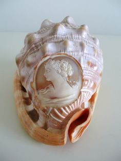 Italian carvers began using shell for their creations around 1805. the Victorian Era