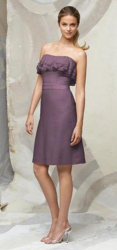 Ruffles!!!!! Lela Rose Style LR125 Bridesmaid Dress