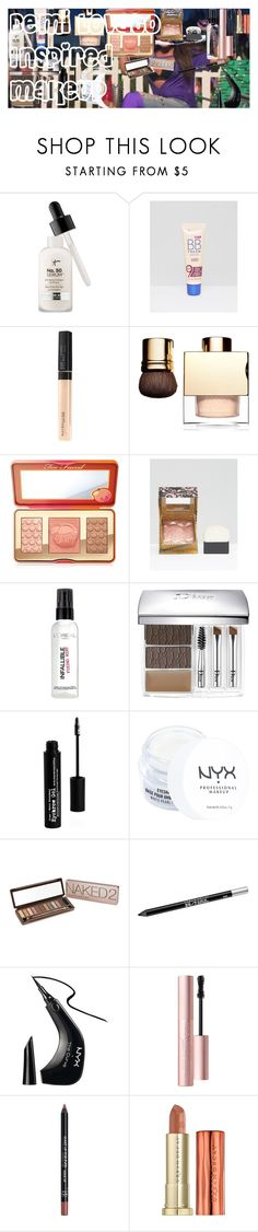 """Demi Lovato Inspired Makeup"" by oroartye-1 on Polyvore featuring beauty, Rimmel, Maybelline, Clarins, Too Faced Cosmetics, Benefit, L'Oréal Paris, Christian Dior, The BrowGal and NYX"