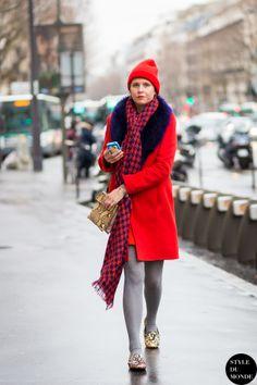 Elisa Nalin Street Style Street Fashion Streetsnaps by STYLEDUMONDE Street Style Fashion Blog