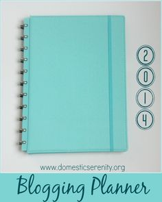 Loving this NEW blog planner - simple & yet efficient!  Domestic Serenity