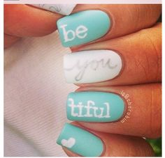 Lovely nails, very self-affirming