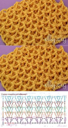 Crochet dishcloth pattern yarns 35 ideas Knitting For BeginnersKnitting HumorCrochet ProjectsCrochet Bag Crochet Stitches Chart, Crochet Diagram, Crochet Motif, Crochet Lace, Stitch Patterns, Knitting Patterns, Crochet Patterns, Tunisian Crochet, Bag Making
