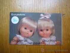 Antiguo Catalogo Chiquitin Chiquitina de Famosa. Años 70. (Juguetes - Catálogos y Revistas de Juguetes)