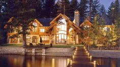 Mountain Waterfront Home