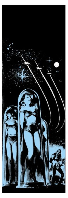 """""""Space Creatures"""" - Science Fiction / B-Movie Art Print - Limited edition"""