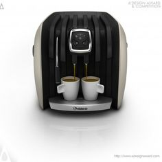A' Design Award and Competition - Images of Vespeo Espresso MacHine by Stefan Radev