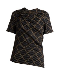 Click here to buy Isabel Marant Étoile Jancis geometric-print cotton top at MATCHESFASHION.COM