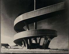 Palazzo dell'acqua e della luce, progetto per l'Esposizione Universale di Roma, 1940 - Pier Luigi Nervi