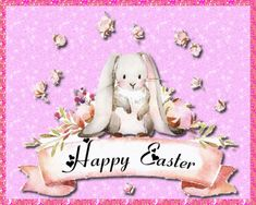 When you just want to send a cute and simple card, then this sweet happy Easter rabbit is perfect. Free online Simple And Sweet ecards on Easter Happy Easter, Easter Bunny, Living He Loved Me, Thank You Wishes, Family Wishes, True Gift, Easter Wishes, Name Cards, Easter Baskets