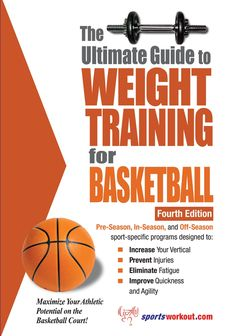 With over 100 photographs of 80 different exercises, this book is the ultimate resource for weight training for basketball.