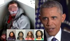 'Despicable': President Obama condemns black teens who live-streamed tortured of white disabled man on Facebook while yelling 'f*** white people' - but DENIES race relations are getting worse