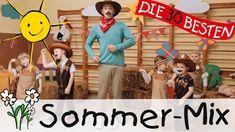 Kinderlieder Sommer-Mix - Singen, Tanzen und Bewegen || Kinderlieder - YouTube Theo Theo, Youtube, Long Car Trips, Nursery Songs, Birthdays, Youtubers, Youtube Movies
