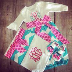 Newborn Baby Gift Set by hopestafford on Etsy