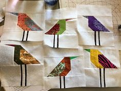 The ladies of the Soo Nipi Quilt Guild had a lot of fun yesterday making birds. By the time the day was done, most had made four or five b...