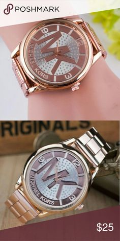 Watches Michael kors Men's / Women's **Great Christmas Gift** Michael Kors Watch You will receive 100%, you see in the picture t's Chinese brand All items are brand new, never used 100% of the area, Rose gold Michael Kors Accessories