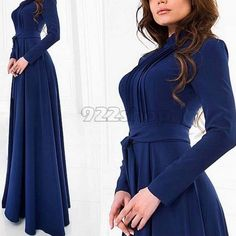 Women Lady Sexy Long Sleeve Cocktail Maxi Long Evening Party Prom Wedding Dress #Unbranded #BallGown #Cocktail