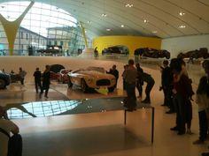 Inside the Enzo Ferrari Museum