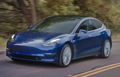 Blue Model 3 #Tesla #Models #car #Automotive #cars #Autos