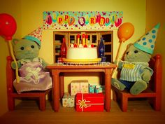 Sylvanian Families ~ Cat Birthday