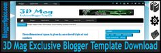 http://www.bloggerspice.com/2014/09/3D-Mag-template-for-blogger.html