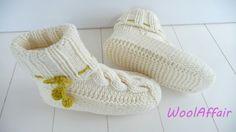 Haus-Socken mit Zopfmuster selber stricken