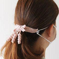 Crochet Cord, Crochet Mask, Crochet Faces, Crochet Bracelet, Crochet Gifts, Cute Crochet, Crochet Bookmark Pattern, Crochet Headband Pattern, Crochet Motif
