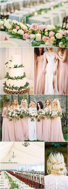 Featured Photographer: Linnea Paulina; pink wedding reception idea