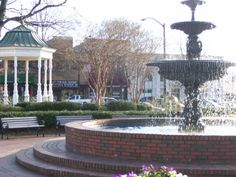 Marietta Square, Georgia  I loved the small town atmosphere and Southern Hospitality.