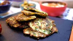 Courgette Fritters - The Londoner