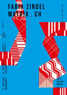 Posters and different Designs for the Graphic Design speech in Dortmund - Benedict Graf