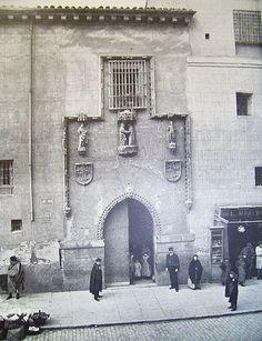 1890. Hospital de La Latina