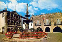 Praça da República, Viana do Castelo, Portugal.