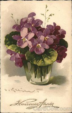 Pretty Purple Flowers Series 229-2