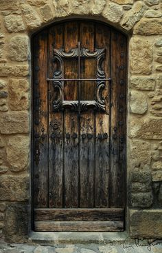 Portn by Cesar Hernangomez on Cool Doors, The Doors, Unique Doors, Entrance Doors, Doorway, Windows And Doors, When One Door Closes, Knobs And Knockers, Door Gate