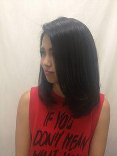 Ankh Cross hair salon - Shoulder Length Hair Cut