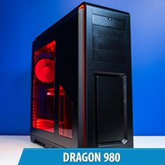 PCCG Dragon 980 Gaming System