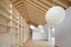 """Деревянный дом в Японии 7   Блог """"Частная архитектура"""""""